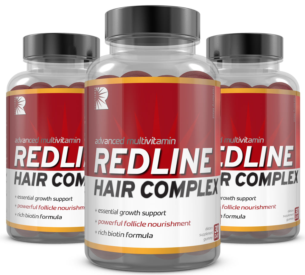 REDLINE Hair Vitamin | 3 Month Pack - RedRestore