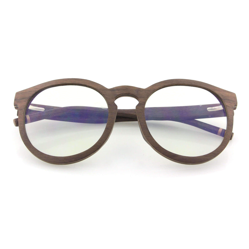 Vilo Indie - Wooden Blue Light Glasses: