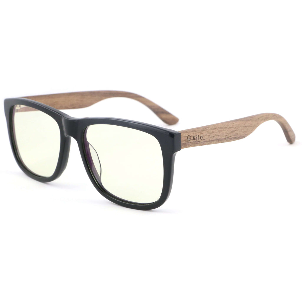 Vilo Oxford - Wooden Blue Light Glasses: