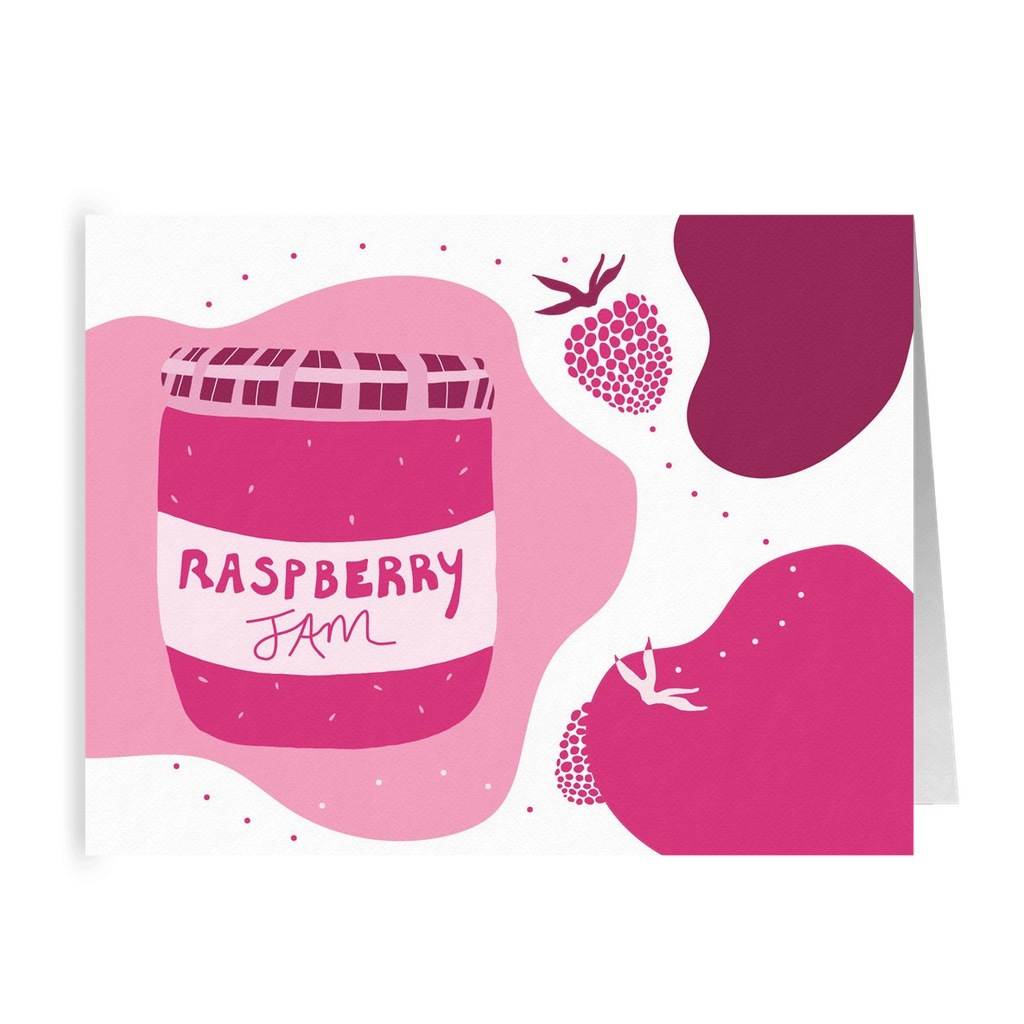 Raspberry Jam Greeting Cards