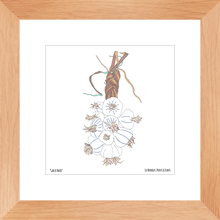 Load image into Gallery viewer, Framed Garlic Braid Art Print