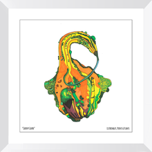 Load image into Gallery viewer, Framed Gourd Art Print