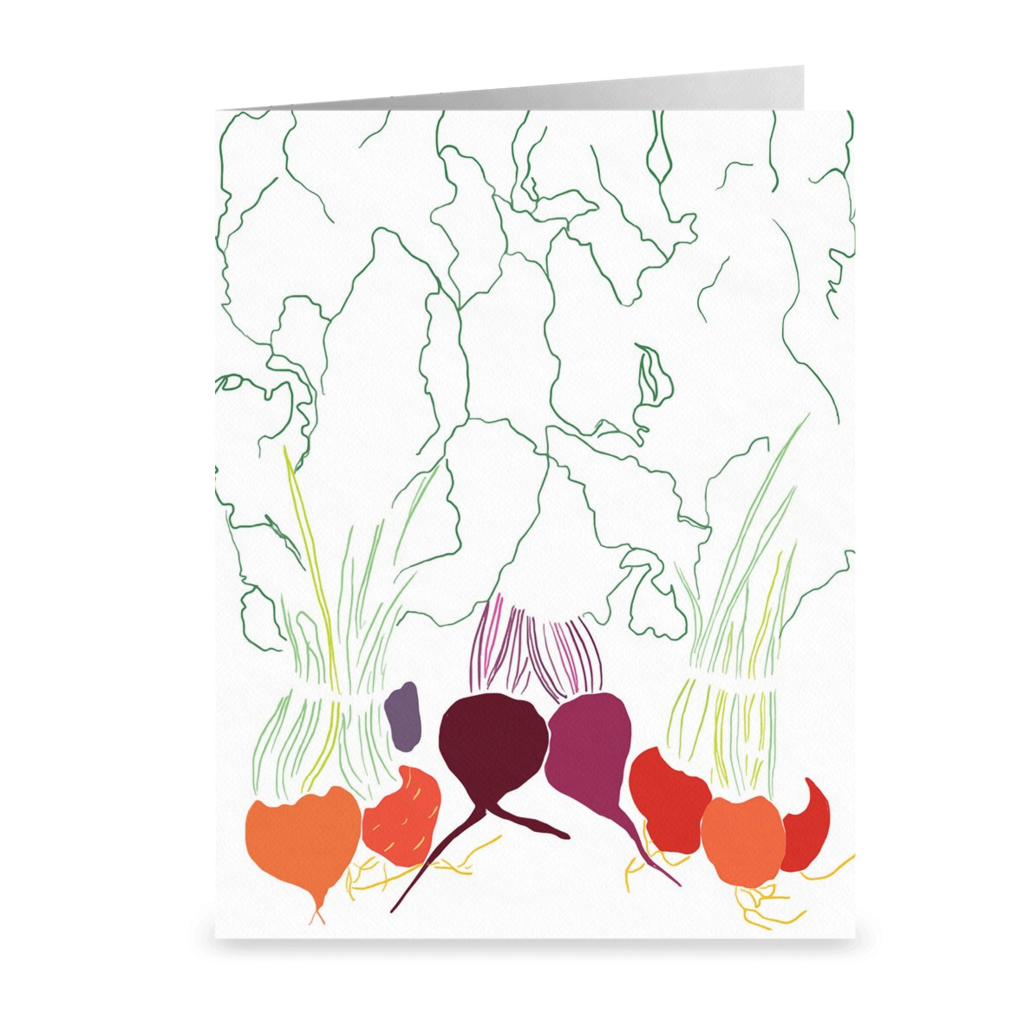 Beet Greeting Cards
