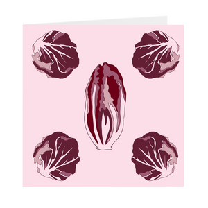 Radicchio Greeting Cards
