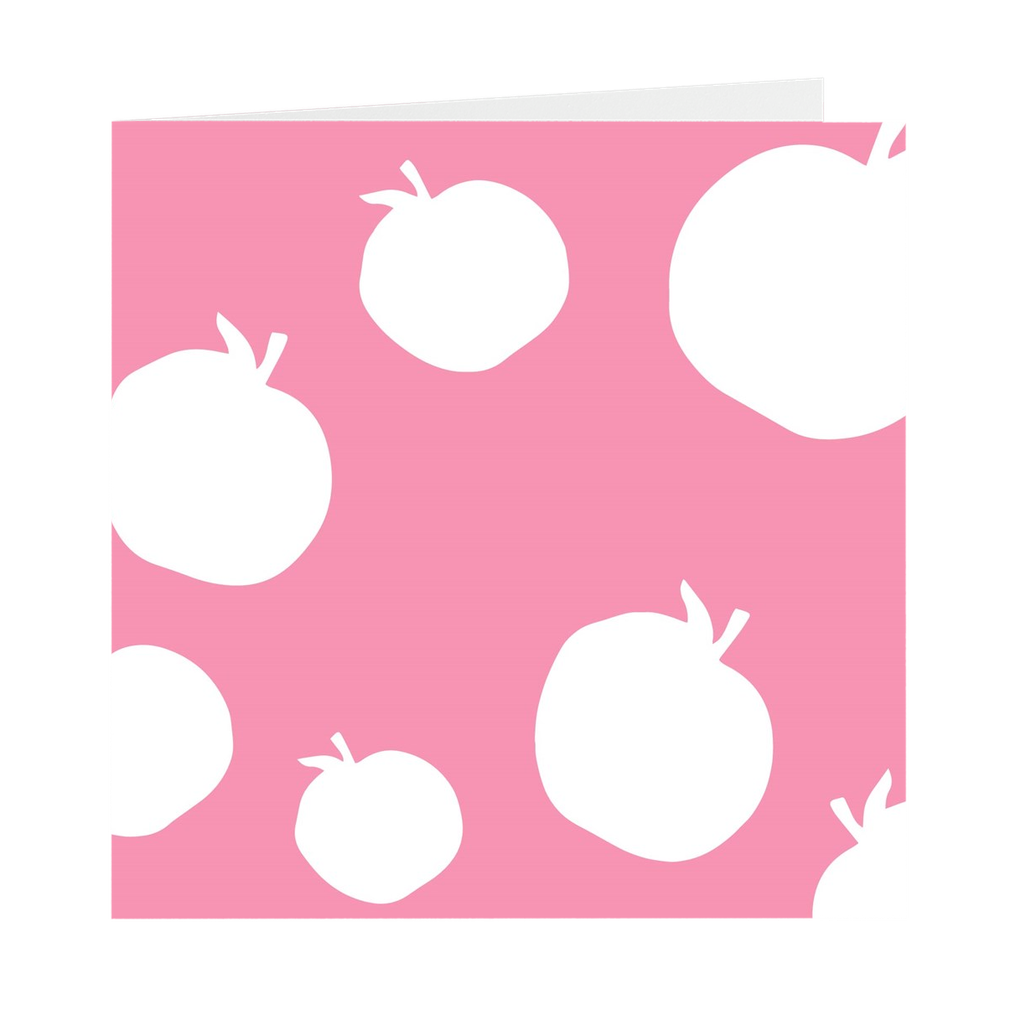 Sliced Apples Greeting Cards