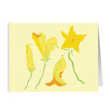 Load image into Gallery viewer, Squash Blossom Cards
