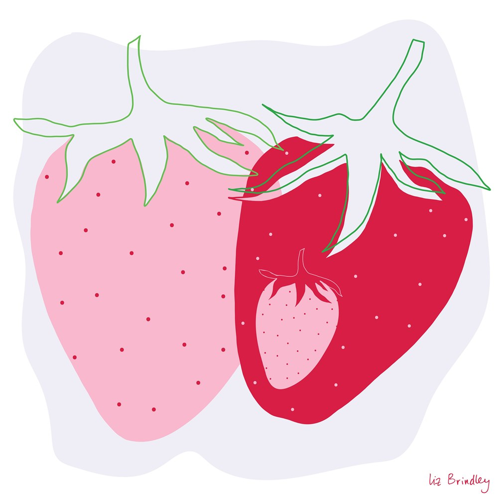 Strawberry Art Print*