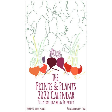 Copy of 2020 Illustrated Food Calendar