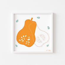 Load image into Gallery viewer, Butternut Squash Art Print