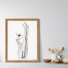 Load image into Gallery viewer, Corn Husk Art Print