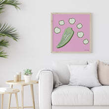Load image into Gallery viewer, Okra Art Print