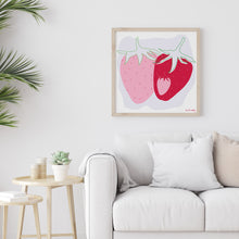 Load image into Gallery viewer, Strawberry Art Print*