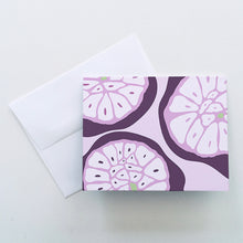 Load image into Gallery viewer, Garlic Cross Section Greeting Cards