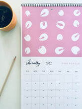 Load image into Gallery viewer, Prints & Plants 2021 Illustrated Wall Calendar