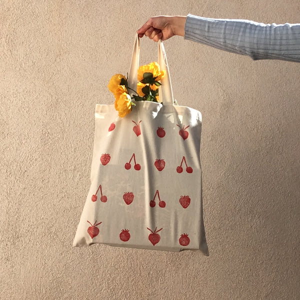 Veggie Tote Bag | Reusable Grocery Bag