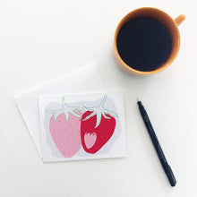 Load image into Gallery viewer, Strawberry Greeting Cards