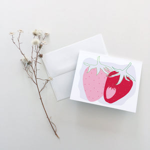 Strawberry Greeting Cards