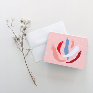 Sweet Pepper Greeting Cards