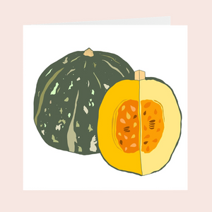 Kobocha Squash Greeting Cards