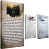 Man In The Arena Canvas, Man O' War Canvas, Press On! Canvas Bundle Item