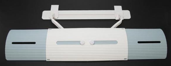 Acssential's Adjustable Air Conditioning Baffle Shield
