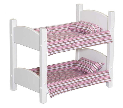 Wooden Bunk Bed - Furniture for Kids Playhouse
