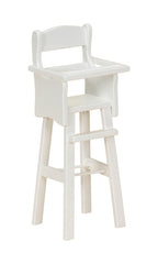 Wooden High Chair Doll Chair for Kids Playhouse