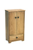 Image of Hard Wood Tall Wardrobe Kids Children Play Room Furniture