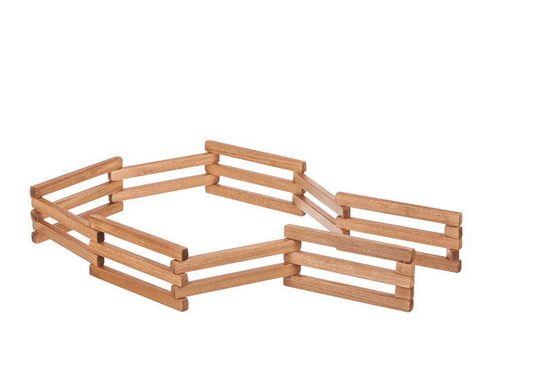 Wooden Folding Fence - Toys for Kids