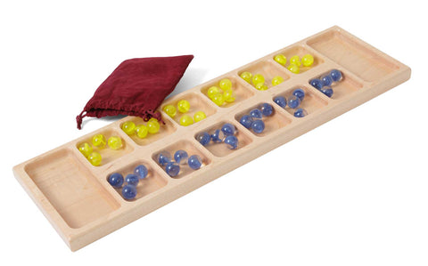 Mancala Traveling Board Game for Kids Adult