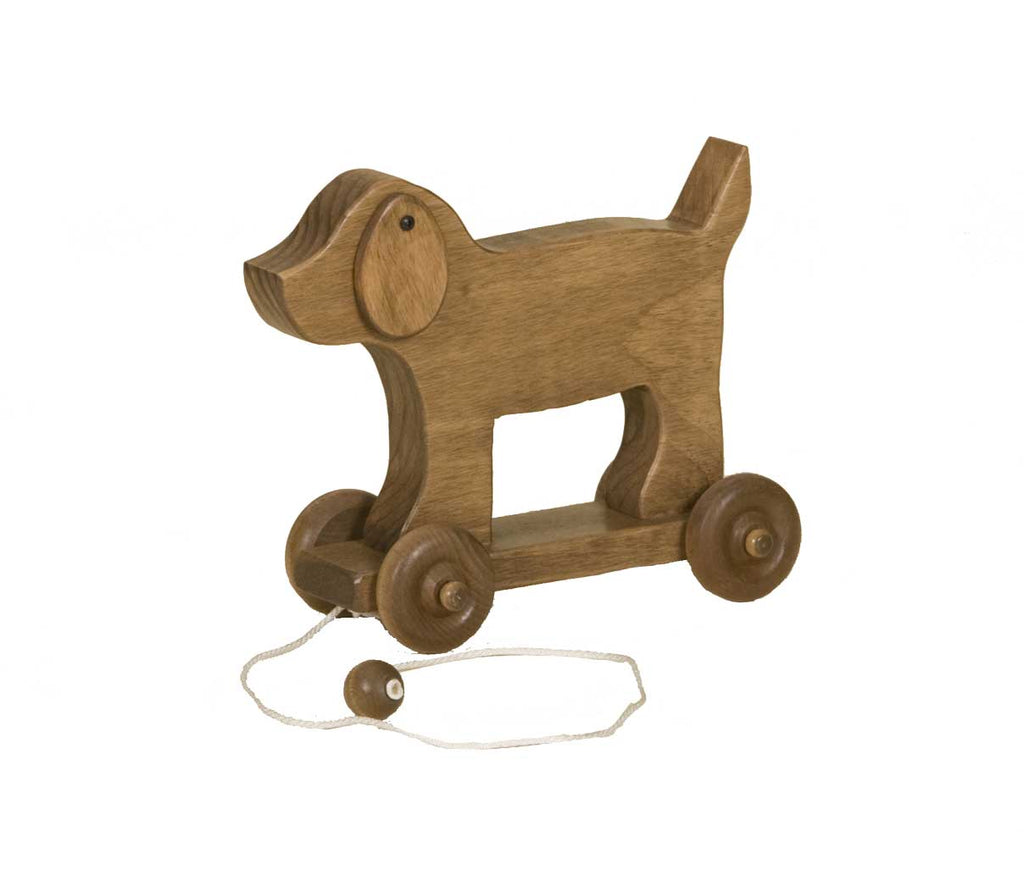 Wooden Pull Toy in Boat Dog Horse and Grasshopper Toys for Kids ...