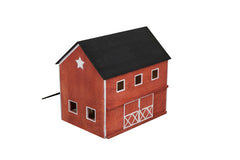 Pennsylvania Realistic Handmade Red Wooden Barn