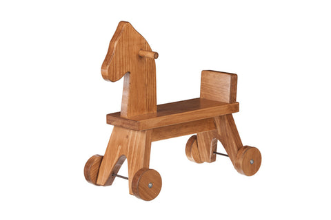 Riding Horse Wooden Toys for Kids
