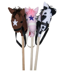 3 Pieces Stick Horse for Kids Play