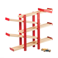 Switchback Car Racer Handmade Wooden Toys for Kids
