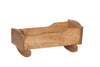 Image of Wooden Doll Cradle Toys for Kids Play in Multicolor