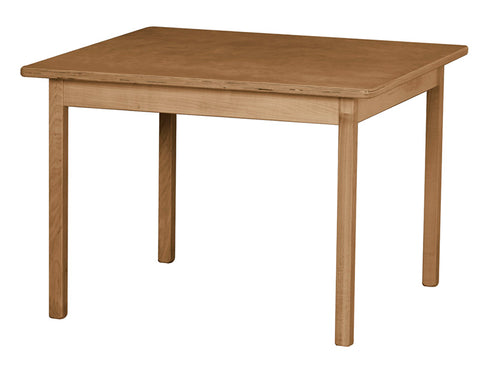 Wooden Study Activity Dining Table Furniture for Kids - 20 x 30 x 21