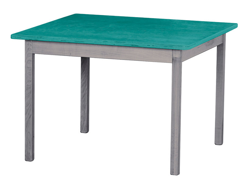 Wooden Study Activity Table Furniture for Kids - 30 x 30 x 21