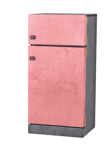 Wooden Refrigerator for Kids Playhouse