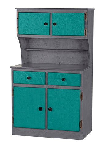 Wooden Cabinet Hutch - Furniture for Playhouse