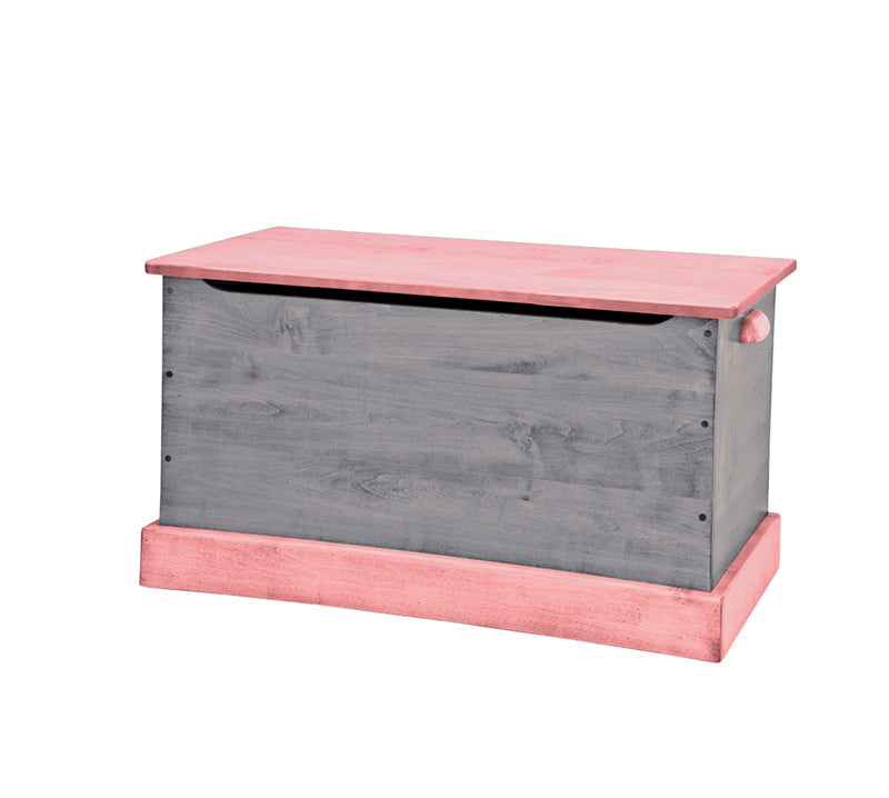 Wooden Toy Box 34'' - Playhouse Furniture