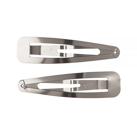 Stainless Steel Snag-Free Hair Snap Clips
