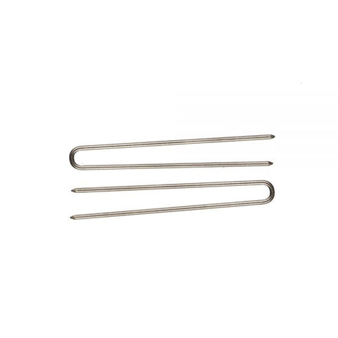 Stainless Steel Straight Snag-Free Hairpins (4 Different Lengths)