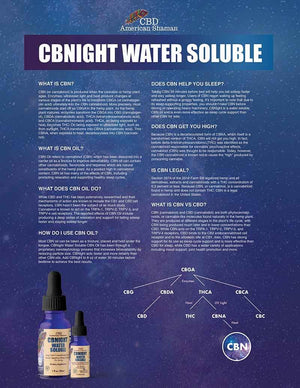 CBNIGHT Water Soluble
