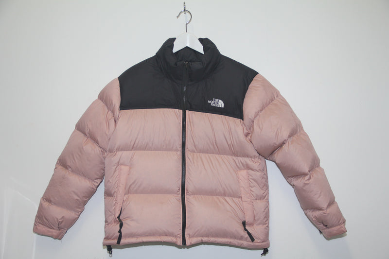 The North Face Womens Nude og Svört Úlpa // L