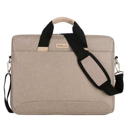 15 Inch Lightweight Laptop Shoulder Bag Protective Vertical Laptop Bag With Strap For Luggage