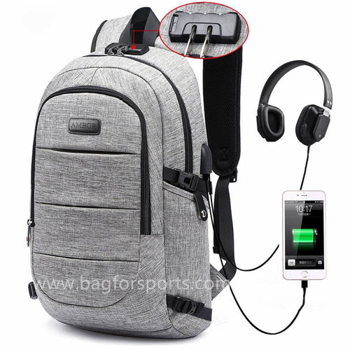 Slim Durable College School Computer Bag