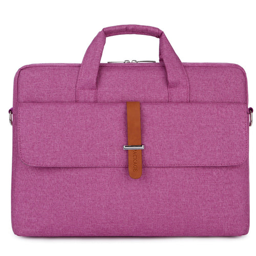 Briefcase For Women 13,14,15inch Portable Waterproof Business Computer Laptop Bag