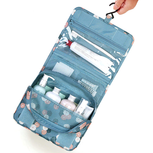 Bulk wholesale girl beauty storage makeup handbag hook travel organizer bag cosmetic case
