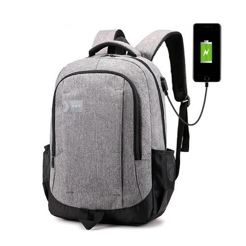 Laptop Backpack Travel Bag with USB Charging Port
